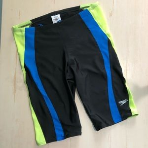 Men's Speedo Pro LT Jammer Swim Shorts Size 34